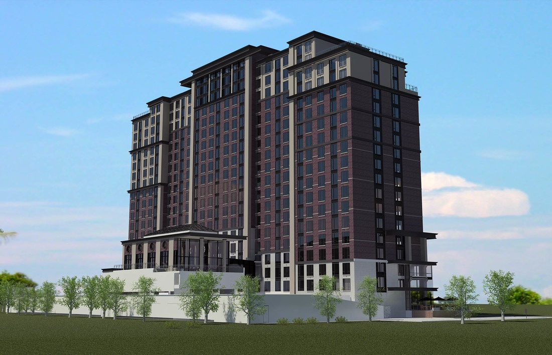 19 storey, 300+ Unit Private Student Residence in London, Ontario