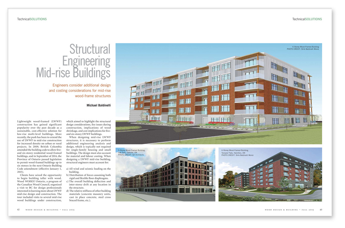 Magazine sample Structural Engineering Mid-rise Buildings