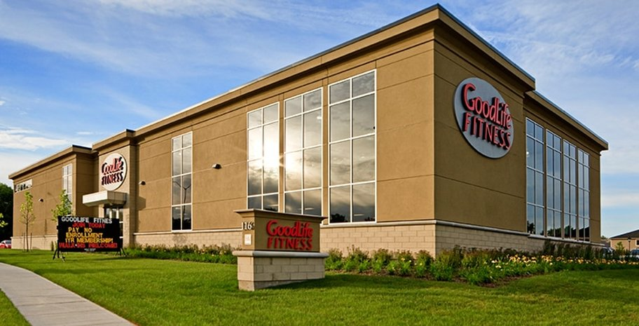 complete design and reconstruction services to 44 Goodlife Fitness Centres